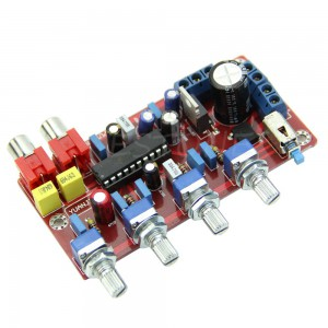 Free-shipping-LM1036-Luxurious-Volume-Control-Tone-Board-1000UF-25V-Pro-Completed-and-Tested-Consumer-Electronics